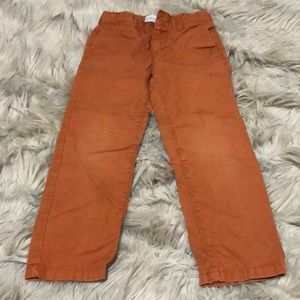 Rust colored Old Navy pants. Boys size 5T